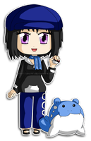 [Commission] Chibi Madeline and Spheal