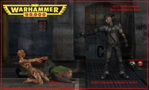 Rouke kill herectik ! damnation character pc game by jibicoco