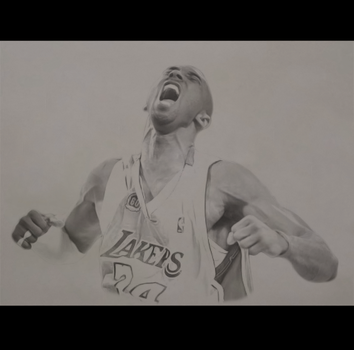 Kobe Bryant - Pencil by Dylan21