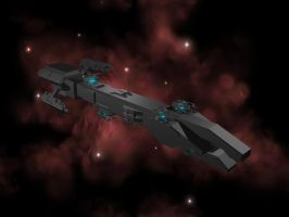 Avalanche Heavy Cruiser by FatalPapercut