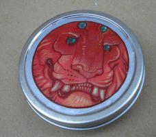 Monster Tin Box by missmonster
