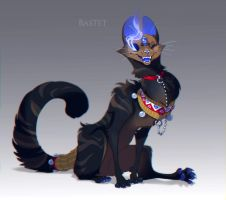 Bastet auction [CLOSED] by painted-bees