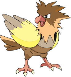Testing What Shiny Spearow Should Look Like by SuperAngiee
