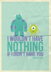 monsters inc poster by viitormartins