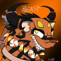 Animal Jam: BEAST by ProfessorAurabolt