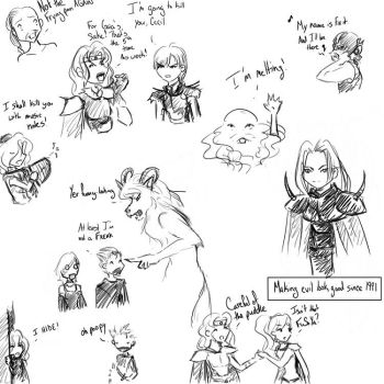 Doodling IV by Catgirl-Calla