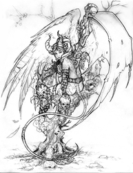 Succubus - The Half-Breed by doggerman