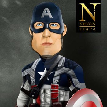Captain America by nelsontiapa