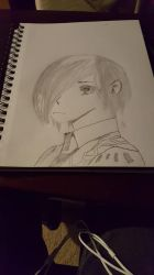 touka from Tokyo ghoul S1 by BombBoss24