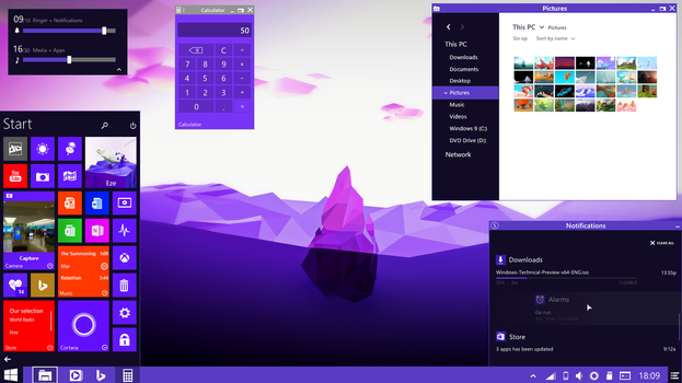 Windows 10 by CianDesign
