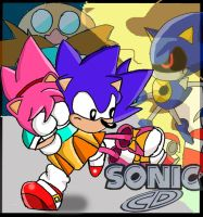 Sonic Cd: The Poster 2 by Segavenom