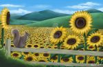 Sunflower Field by Endless-Fantasy-Art