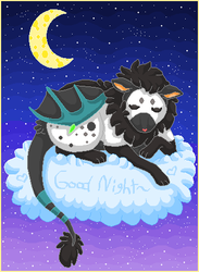 .:goodnight beast:. by cottoncritter