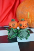 Pumpkins 004 by Irik77