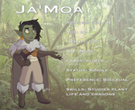 Ja'Moa Profile 2019 by RoFlo-Felorez