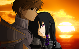 [A.T with Madness-Returns-AE] Artix x Widow by CoffeeholicLinda-DI