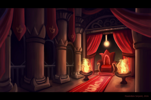 The Throne Room by Maximilien-Serpent