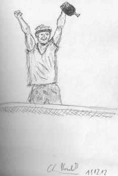 Table Tennis Studie by HaraldElsen