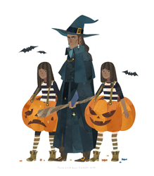 Lok-Halloween Time-The north family by freestarisis