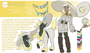 Sharpay Furfrou Reference by Skitea