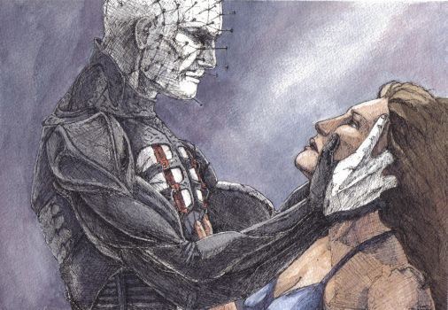 Pinhead and Kirsty. by MissLizz