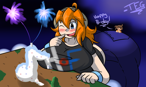 Gift: Of Cake and Fireworks by TheEnglishGent