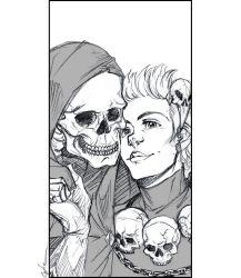 Stiles' Selfie with the Reaper by Cofie
