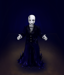 Art Trade~ Mendertale- Dr. WD Gaster by Arerona
