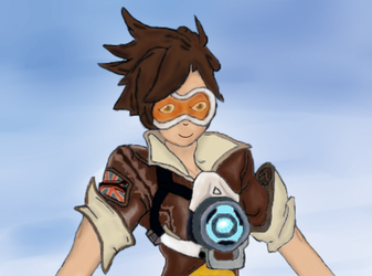 Tracer [OVERWATCH] by CitoVorleone