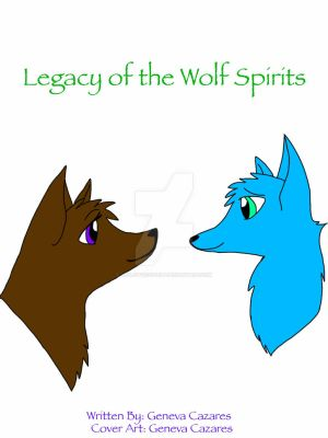 Legacy of the Wolf Spirits Cover Art by VioletFuzzypelt