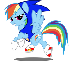 Commission : Rainbow Sonic by trungtranhaitrung