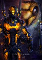 Marvel : YellowJacket by Beriuos