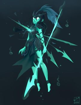 Kalista by inkinesss