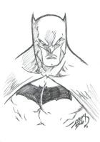 Batman Sketch 2016 by LucasAckerman