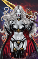 Lady Death by johnbecaro