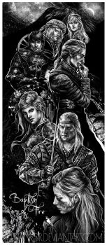 Baptism of Fire characters collage by JustAnoR