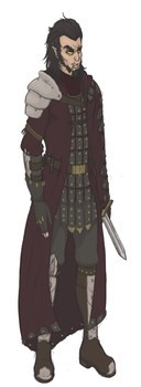 Grand Emperor Vaersodrae Concept Sketch by Zeknox by LTprojects