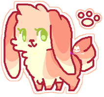 |ADOPT| Cute Pink Bun Adopt SET PRICE| CLOSED by TheRainySun