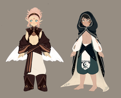 Adoptables 3, 4. [CLOSED] by BloodyNimbo