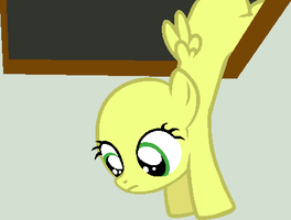 Ceiling Filly Watches You by BatmanBrony