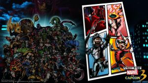 UMvC3 PS3 Wallpaper 5 by TheALVINtaker