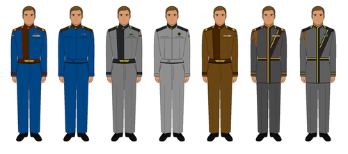 Babylon 5 Uniforms - S2+ by TyphorT38