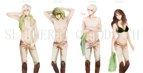 Chronos: Slytherin Quidditch by iVDrop