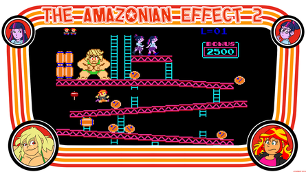 The Amazonian Effect II Retro Arcade. by Atariboy2600