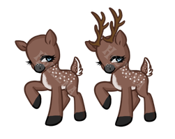 Deer Pony Auction CLOSED by Hollena