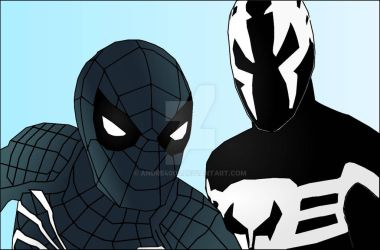 Symbiote Spidey by Andre4003