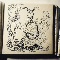 Instaart - Cauldron by Candra