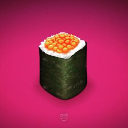 Gunkanmaki Sushi by digitalchet