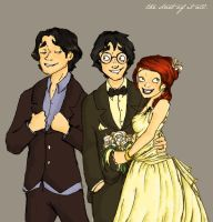 The Potter Wedding by MioneBookworm