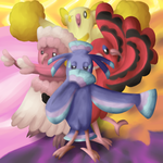 Oricorio Is Fab by Halloween-Jester